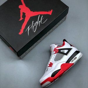 Nike Air Jordan 4 White Red